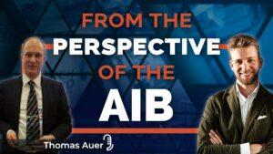 Affiche publicitaire émission AIB