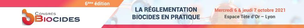 congrès biocide Lyon 2021
