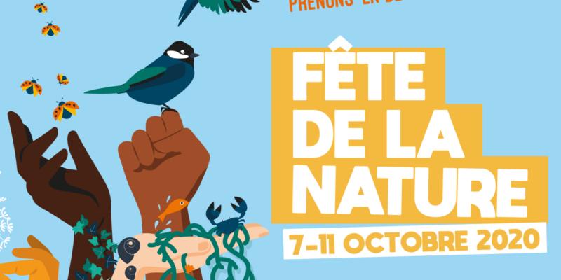 Affiche de la fête de la nature 2020 :