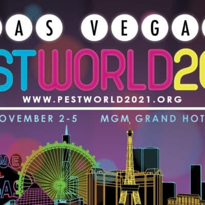 Image promotionnel du PestWorld 2021 à Las Vegas