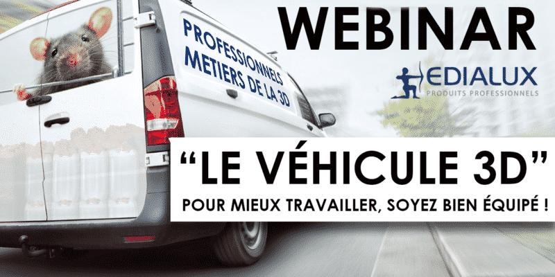Webinar edialux le véhicule 3D