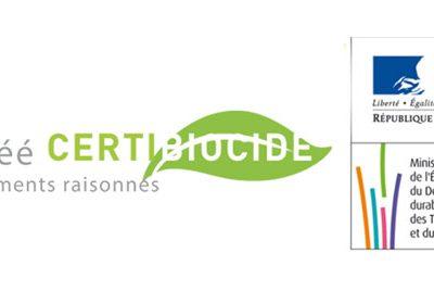 agrément certibiocide