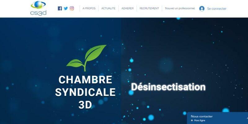 CS3D : page d'accueil du nouveau site