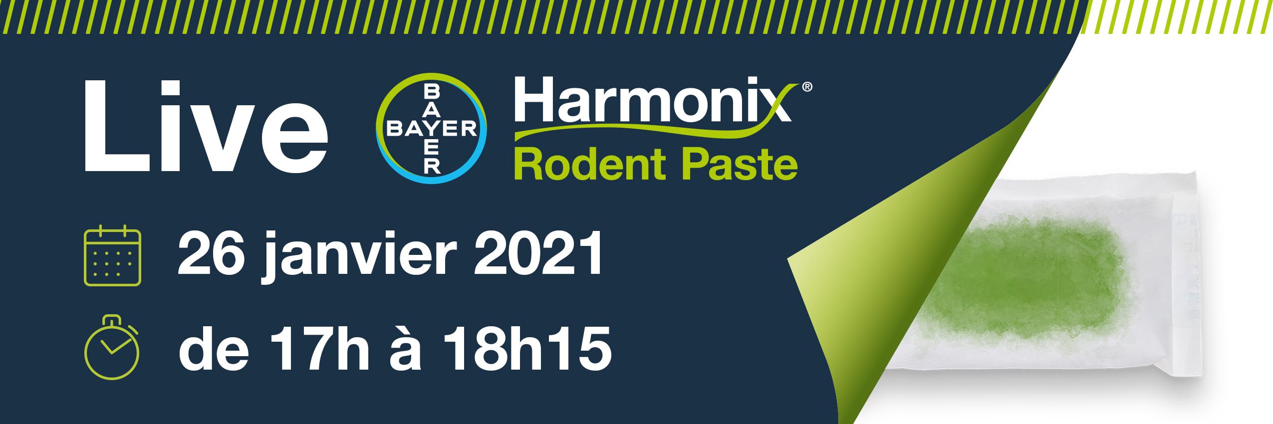 infos sur le live Harmonix Rodent Paste