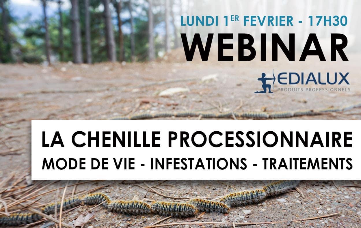 webinar chenilles processionnaires Edialux
